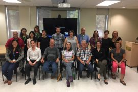 Members of the 75-strong Technical Aids Service team include occupational therapists and technicians who specialize in wheelchair positioning, orthotics and prosthetics, as well as mechanics and administrative staff.
