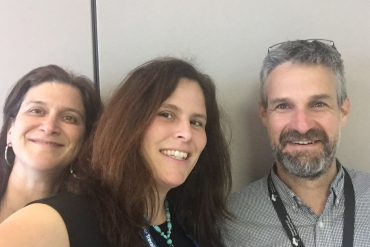 From left: Anita Cugliandro from CLSC Côte-des-Neiges, Linda Shames from CLSC Benny Farm and Jeremy Wexler, Herzl Clinic Opioid Use Disorders Clinic.