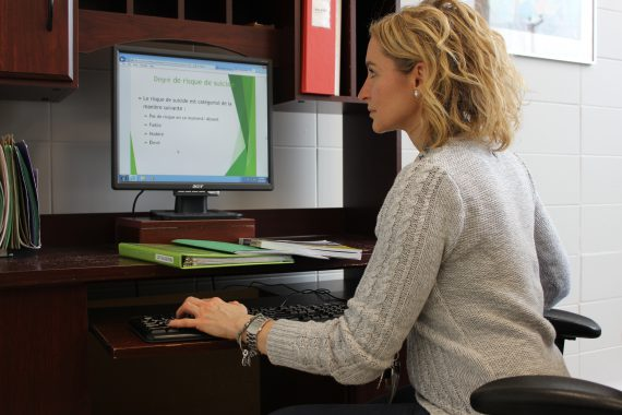 Physical rehabilitation therapist completes online suicide prevention course