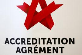 Accreditation Agrément logo