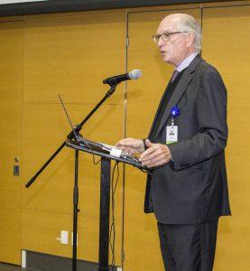 Alan Maislin, président du conseil d'administration du CIUSSS du Centre-Ouest-de-l'Île-de-Montréal.