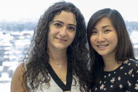 Carla Jomaa (K10 Head Nurse – Neuroscience) pictured with Melody Lee (K10 Interim Senior Advisor, Neurosciences)