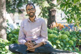 Docteur Soham Rej, psychiatre à l'Hôpital général juif, organisateur de la Journée académique en psychiatrie gériatrique dont le thème portait sur l'application de la technologie en soins gériatriques