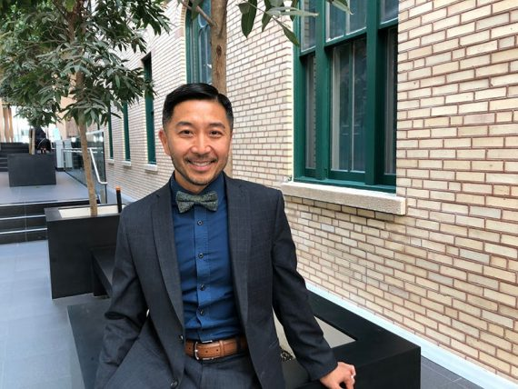 To relieve anxiety during these stressful times, focus on the present and create daily routines, says Tung Tran, Director of the Mental Health and Addiction Program