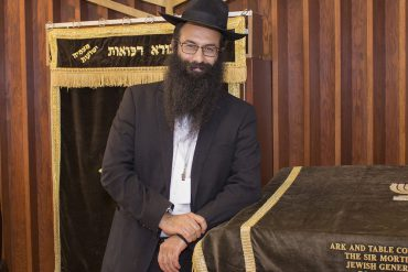 Rabbi Barak Nissim Hetsroni, Chaplain at the Jewish General Hospital