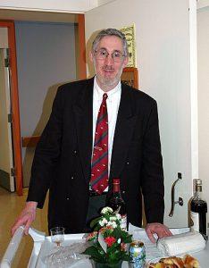 Le rabbin Michael Wolfe, aumônier au Centre gériatrique Maimonides Donald Berman et au CHSLD juif Donald Berman
