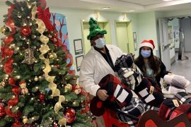 Ray Cassell and Louise Monteiro, aka Santa and Mrs. Claus, prepare for the holidays at the Father Dowd Residential Centre