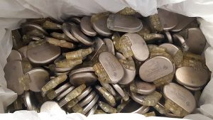 Used pacemaker batteries were collected by Cardiology staff