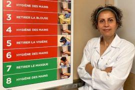 Adila Zahir, chef de service, Prévention et contrôle des infections (PCI)