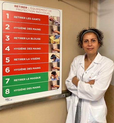 Adila Zahir, Chief of Service for IPAC