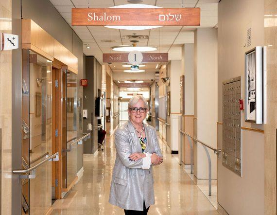 Barbra Gold at the Donald Berman Maimonides Geriatric Centre